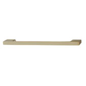 Lago di Como Collection Handle in Matt Gold, 194mm W x 28mm D x 8mm H