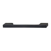 Lago di Como Collection Handle in Matt Black, 130mm W x 28mm D x 8mm H