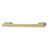 Lago di Como Collection Handle in Matt Gold, 130mm W x 28mm D x 8mm H