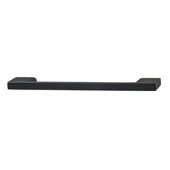 Lago di Como Collection Handle in Matt Black, 164mm W x 28mm D x 8mm H