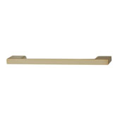 Lago di Como Collection Handle in Matt Gold, 164mm W x 28mm D x 8mm H