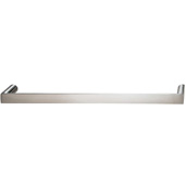 Cornerstone Series Soho Collection (8'' W) Handle in Stainless Steel Look, 202mm W x 27mm D x 12mm H, Center to Center: 192mm  (7-9/16'')