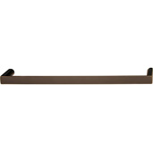 Cornerstone Series Soho Collection (8'' W) Handle in Oil Rubbed Bronze, 202mm W x 27mm D x 12mm H, Center to Center: 192mm  (7-9/16'')
