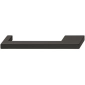 Nouveau Collection 6-3/4'' W Handle in Matt Black, 172mm W x 32mm D x 12mm H