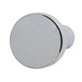 Nouveau Collection (4/5'' Dia.) Round Knob, Polished Chrome, 20mm Diameter