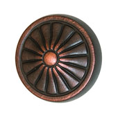 Keystone Retro Style Collection (1-1/4'' Dia.) Round Knob, Oil-Rubbed Bronze, 32mm Diameter
