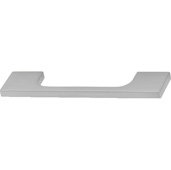 Cornerstone Series Showcase Collection (4-1/2'' W) Cabinet Handle in Brushed Nickel, 116mm W x 25mm D x 6mm H, Center to Center: 96mm  (3-3/4'')