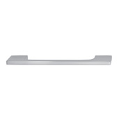 Cornerstone Series Showcase Collection (5-3/4'' W) Cabinet Handle in Brushed Nickel, 148mm W x 25mm D x 6mm H, Center to Center: 128mm  (5-3/64'')