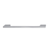 Cornerstone Series Showcase Collection (7'' W) Cabinet Handle in Brushed Nickel, 180mm W x 25mm D x 6mm H, Center to Center: 160mm (6-5/16'')