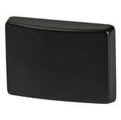 Cornerstone Series Elite Handle Collection (1-1/2'' W) Modern Knob in Dark Oil-Rubbed Bronze, 39mm W x 26mm D x 28mm H