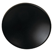Cornerstone Series Elite Handle Collection (1-1/2'' Diameter) Mid-Century Modern Knob in Dark Oil-Rubbed Bronze, 38mm Diameter x 21mm D