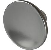 Cornerstone Series Elite Handle Collection (1-1/2'' Diameter) Mid-Century Modern Knob in Slate/Graphite, 38mm Diameter x 21mm D