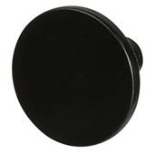 Cornerstone Series Elite Handle Collection (1-1/8'' Diameter) Mid-Century Modern Knob in Dark Oil-Rubbed Bronze, 28.5mm Diameter x 20.5mm D