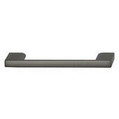Cornerstone Series Elite Handle Collection Zinc Pull Handle in Slate/Graphite, 118mm W x 27mm D x 8.3mm H (4-5/8'' W x 1-1/16'' D x 5/16'' H), Center to Center: 96mm (3-3/4'')