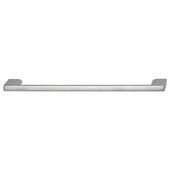 Cornerstone Series Elite Handle Collection Zinc Pull Handle in Matt Aluminum, 214mm W x 27mm D x 8.3mm H (8-7/16'' W x 1-1/16'' D x 5/16'' H), Center to Center: 192mm (7-9/16'')