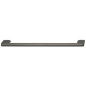 Cornerstone Series Elite Handle Collection Zinc Pull Handle in Slate/Graphite, 214mm W x 27mm D x 8.3mm H (8-7/16'' W x 1-1/16'' D x 5/16'' H), Center to Center: 192mm (7-9/16'')