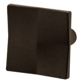 Aztec Collection Knob in Oil-Rubbed Bronze, 36mm W x 23mm D x 36mm H