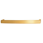 Mulberry Collection 12-1/2''W Handle in Brushed Brass, 318mm W x 38mm D x 25mm H (Appliance Pull)