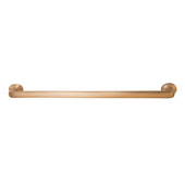 Häfele Arcadian Collection Handle in Brushed Bronze, 332mm W x 25mm D x 42mm H (Appliance Pull)