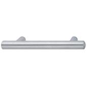 Cornerstone Series Veranda Collection (7'' W) Matt Stainless Steel Bar Cabinet Handle, 178mm W x 37mm D x 14mm H, Center to Center: 128mm  (5-3/64'')
