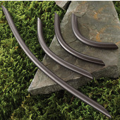 (4-1/2'' W) Bow Handle in Dark Oil-Rubbed Bronze, 115mm W x 30mm D x 10mm H, Available in Multiple Sizes