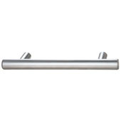 Cosmopolitan Collection Bar Pull in Matt Chrome, 129mm W x 32mm D x 12mm H