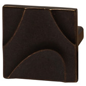 Breakers Collection 1-7/8'' W Square Knob in Oil-Rubbed Bronze, 45mm W x 25mm D x 45mm H