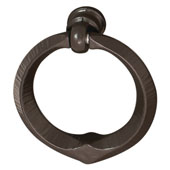 Cologne Collection Ring-Style Pull in Dark Oil-Rubbed Bronze, 45 mm W x 16 mm D x 49 mm H