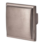 Beaulieu Knob in Brushed Nickel, 35mm W x 30mm D x 35mm H