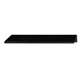 Tab Collection ''L'' Handle in Polished Black, 152mm W x 42mm D x 18mm H