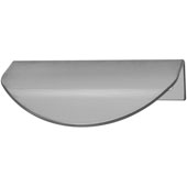 Cascade Collection Handle in Stainless Steel, 80mm W x 46mm D x 20mm H