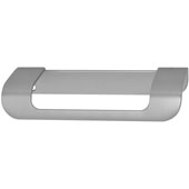 Cascade Collection Handle in Stainless Steel Look, 115mm W x 43mm D x 19mm H