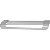 Cascade Collection Handle in Stainless Steel Look, 179mm W x 43mm D x 19mm H