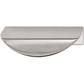 Cascade Collection Handle in Polished Chrome, 80mm W x 46mm D x 20mm H