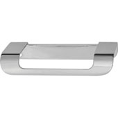 Cascade Collection Handle in Polished Chrome, 115mm W x 43mm D x 19mm H