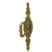 Classico Collection Key Handle in Rustic Brass, 27mm W x 39mm D x 131mm H, Pack of 5