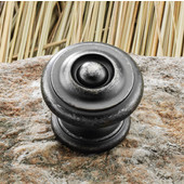 Somerset Collection 1-3/8'' Dia. Round Knob in Pewter, 35mm Diameter x 31mm D x 27mm Base Diameter