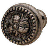 Artisan Collection Knob in Pewter, 32mm Diameter x 30mm D x 16mm Base Diameter