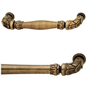 Artisan Collection Handle in Antique Brass, 88mm W x 30mm D x 11mm H (Available as an Appliance Pull)