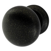 Bordeaux Collection Knob in Oil-Rubbed Bronze, 32mm Diameter x 32mm D x 25mm Base Diameter