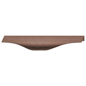 Design Deco Series Singapore Collection Aluminum Handle in Oil-Rubbed Bronze, 200mm W x 38mm D x 17.2mm H (7-7/8'' W x 1-1/2'' D x 11/16'' H), Center to Center: 128mm (5-1/16'')