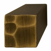 Bella Italiana Collection Beveled Knobin Highlighted Bronze, 16mm W x 25mm D 12mm H