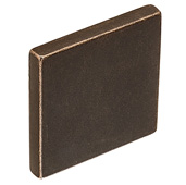 Cornerstone Series Soho Collection (1-3/8'' W), Knob in Oil Rubbed Bronze, 35mm W x 20mm D x 35mm H