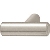 Cornerstone Series Elemental Collection (1-5/8'' W), T-Knob in Stainless Steel Look, 40mm W x 35mm D