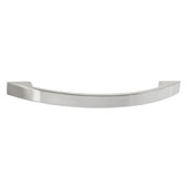 Amerock Allison Collection (4-4/5''W) Handle, Satin Nickel, 122mm W x 10mm D x 27mm H, 96 Center to Center
