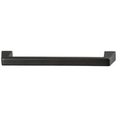 Amerock Blackrock Collection (7-1/4''W) Handle, Black Bronze, 184mm W x 16mm D x 32mm H, 160mm Center to Center