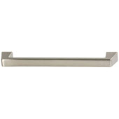 Amerock Blackrock Collection (7-1/4''W) Handle, Satin Nickel, 184mm W x 16mm D x 32mm H, 160mm Center to Center
