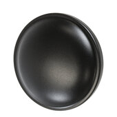Design Deco Series Amerock Allison Value Collection Zinc Round Knob in Matt Black, 32mm Diameter x 24mm D (1-1/4'' Diameter x 15/16'' D)