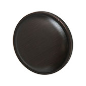 Amerock Allison Collection (1-1/4'' Dia.) Round Knob, Oil-Rubbed Bronze, 32mm Diameter