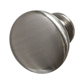 Amerock Allison Collection (1-1/4'' Dia.) Round Traditional Knob, Satin Nickel, 32mm Diameter